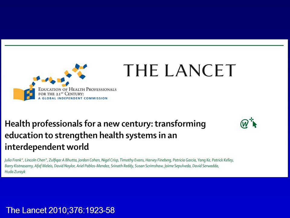 The Lancet 2010;376:1923-58