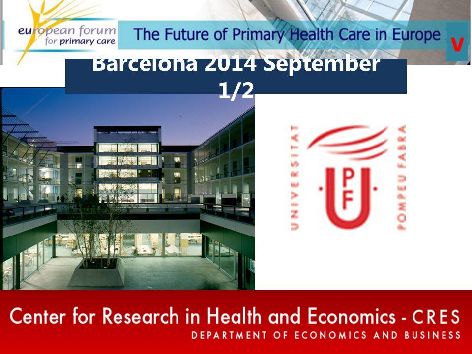 Barcelona 2014 September 1/2