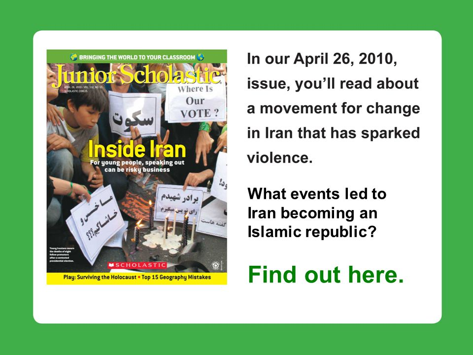 What events led to Iran becoming an Islamic republic Find out here.