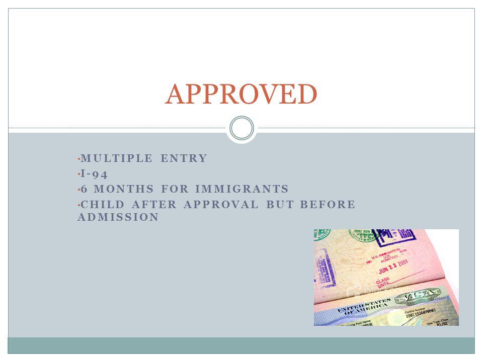 DELAY ADMINISTRATIVE PROCESSING 221(g) 60 days BACKGROUND CHECKS Denial of immigrant visa Discretionary denial.