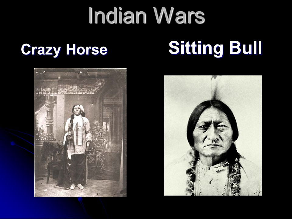 Indian Wars Crazy Horse Sitting Bull