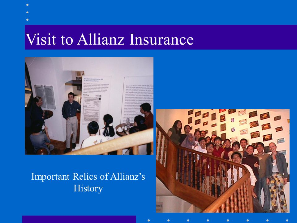 Visit to Allianz Insurance Important Relics of Allianz's History