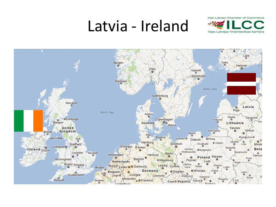 Latvia - Ireland