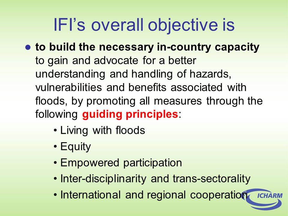 There are already some, although focuses are different : National Fire Protection Association (NFPA): NFPA 1600: Standard on Disaster/Emergency Management and Business Continuity Programs, 2007 Edition ISO (2006): International Workshop Agreement, Ref number IWA 5:2006(E) Emergency preparedness ISO 9001 and 9004: A framework for disaster preparedness Disaster Countermeasures Basic Act of 1997, Japan Some practices and attempts of standardization of preparedness