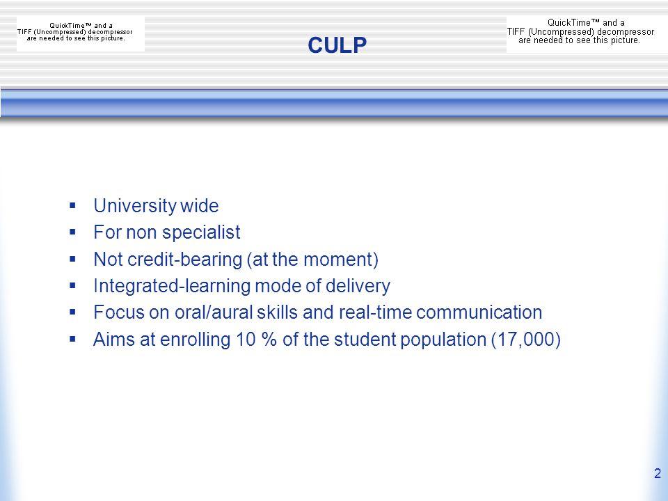 1 CULP Cambridge University Language Programme