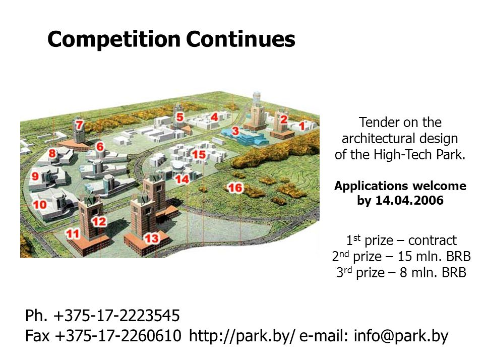 Competition Continues Fax Ph.