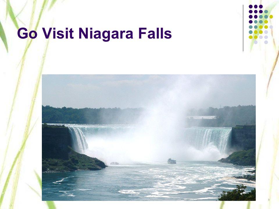 Go Visit Niagara Falls