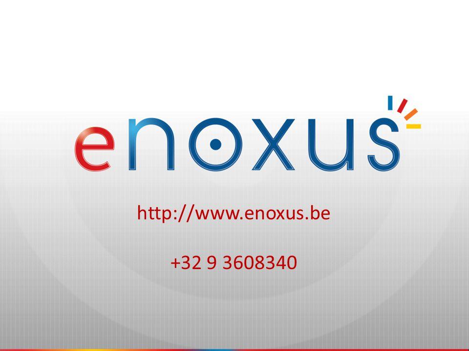 http://www.enoxus.be +32 9 3608340