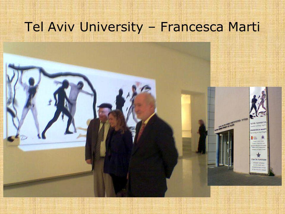 Tel Aviv University – Francesca Marti