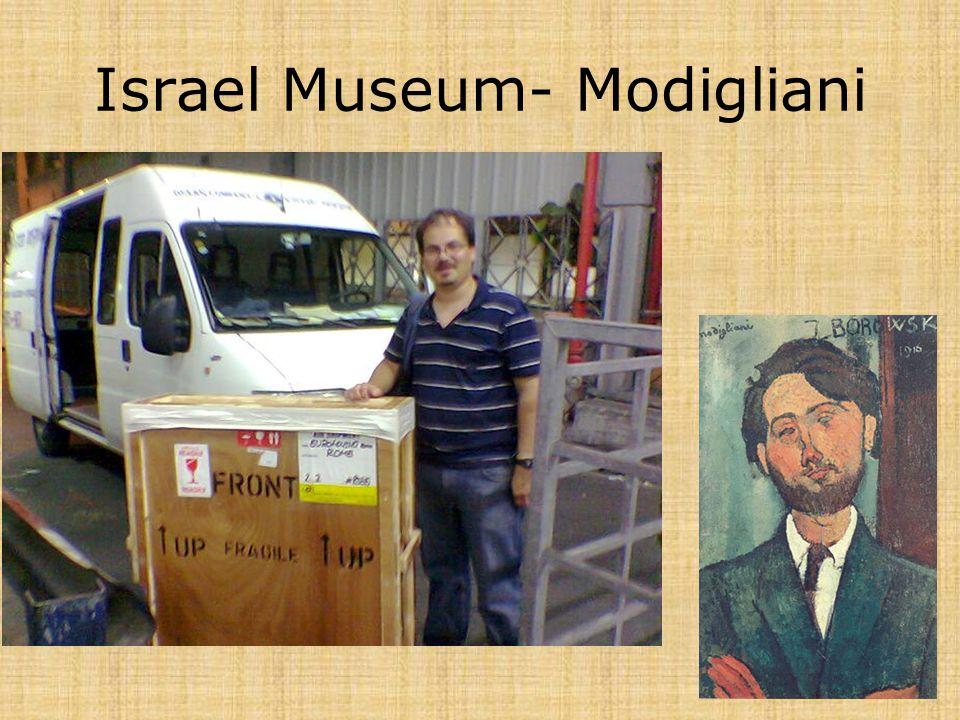 Israel Museum- Modigliani