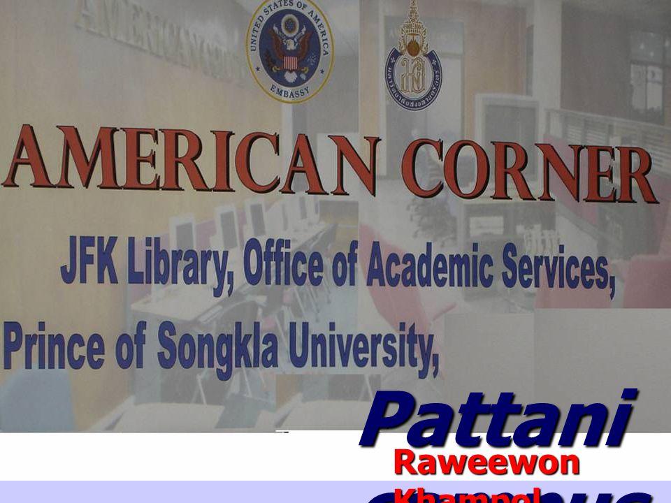 Pattani campus Raweewon Khampol