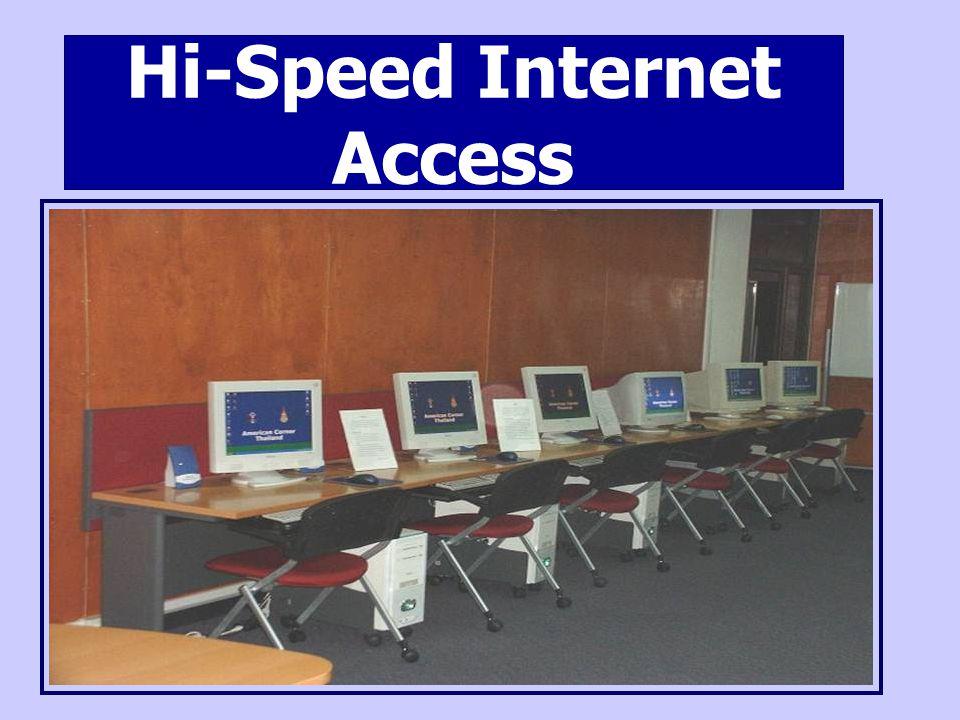 Hi-Speed Internet Access
