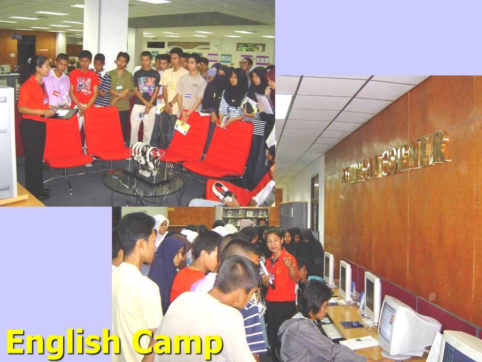 English Camp Students / July 25, 2004
