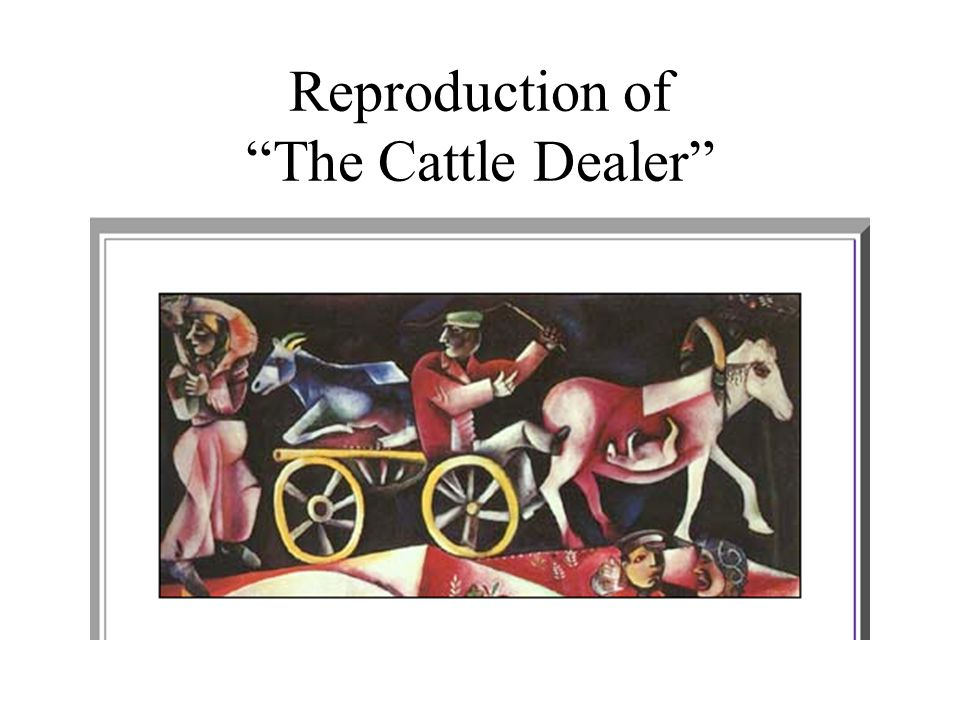 Reproduction of The Cattle Dealer