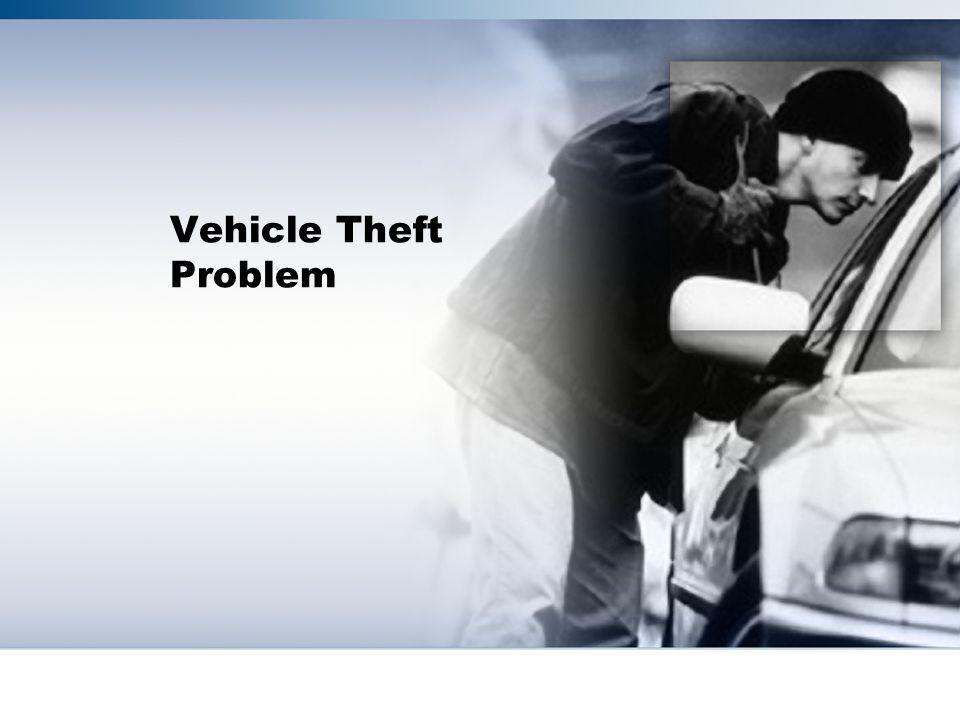 Vehicle Theft Problem