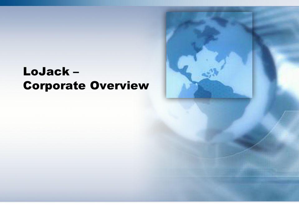 LoJack – Corporate Overview