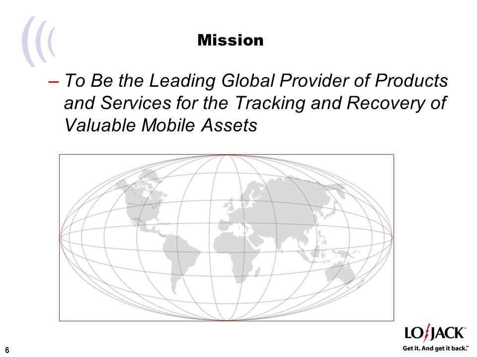 7 LoJack Corporation (LOJN) World leader in stolen vehicle tracking and recovery 90+% recovery rate 20-year history of success NASDAQ-listed company ―Symbol: LOJN Global ―26 States + Washington D.C.