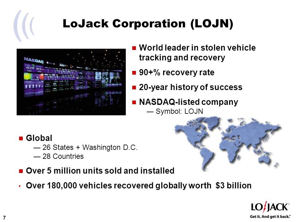 LoJack International Building a Global Brand