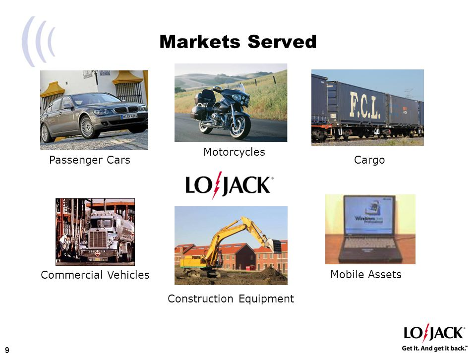 20 Increasing International Market Penetration Market Opportunity –66 Million New Vehicles Sold Annually –For Every Vehicle Stolen in U.S., 2 are Stolen Globally Licensee Strategies for Growth –Develop Programs Enabling Licensees to Increase Local Market Share –Consolidating operations and establishing subsidiary presence –New product development –Develop New Markets in Asia/Pacific Rim –Seek Global Agreements with Vehicle Manufacturers