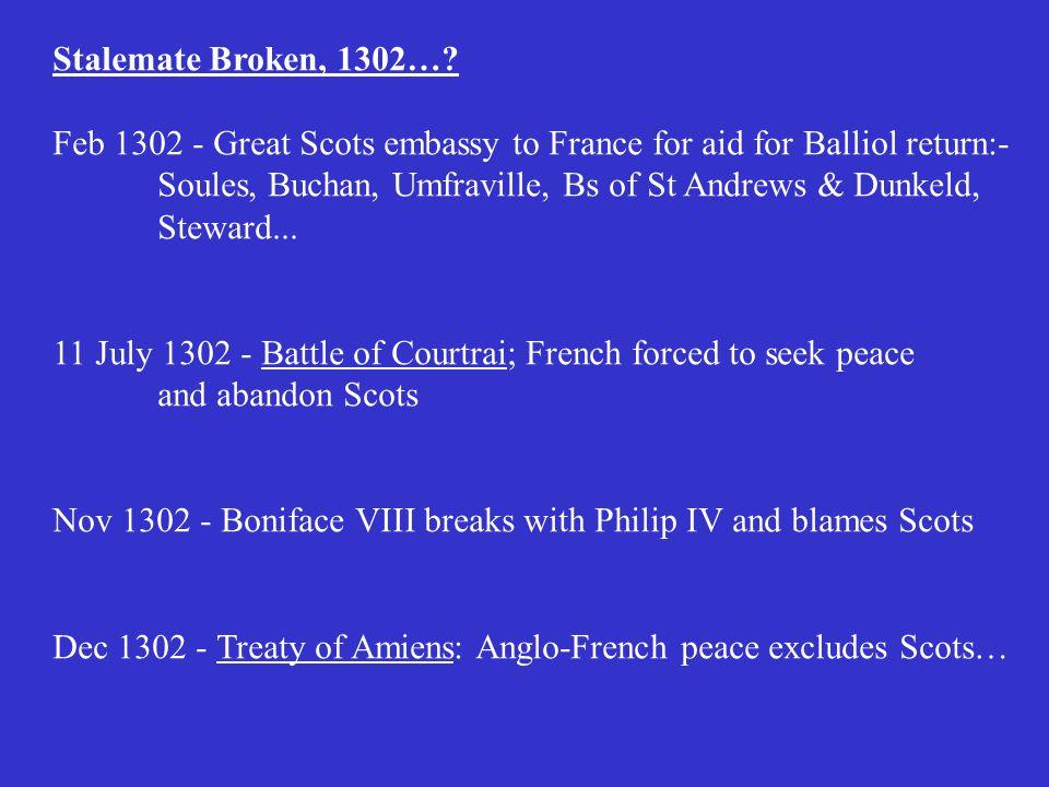 Stalemate Broken, 1302….
