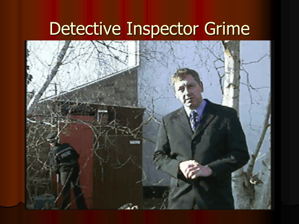 Detective Inspector Grime