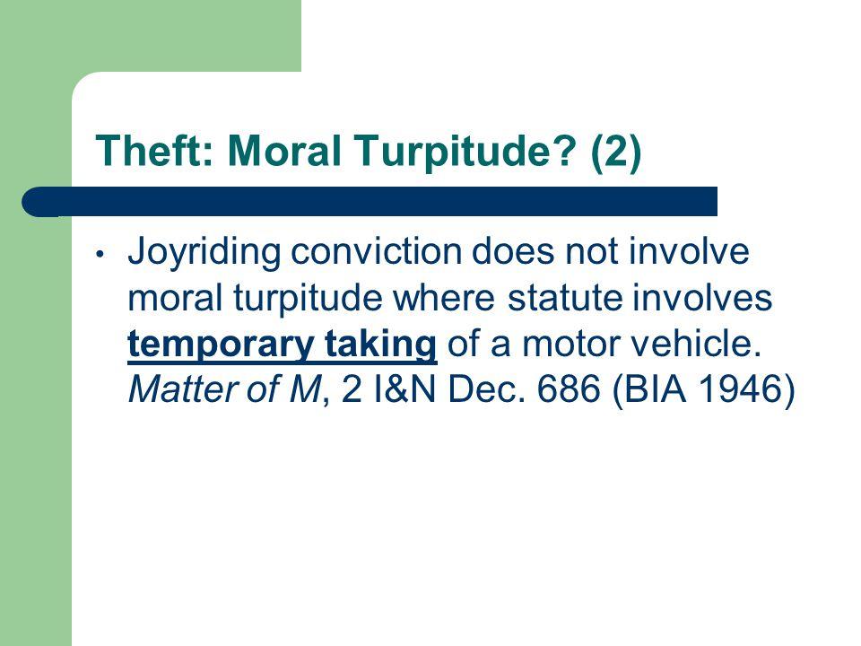 Auto Burglary Matter of Perez, 22 I&N Dec.1325 (BIA 2000) Solorzano-Patlan v.