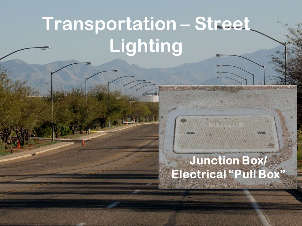 Transportation – Street Lighting Junction Box/ Electrical Pull Box