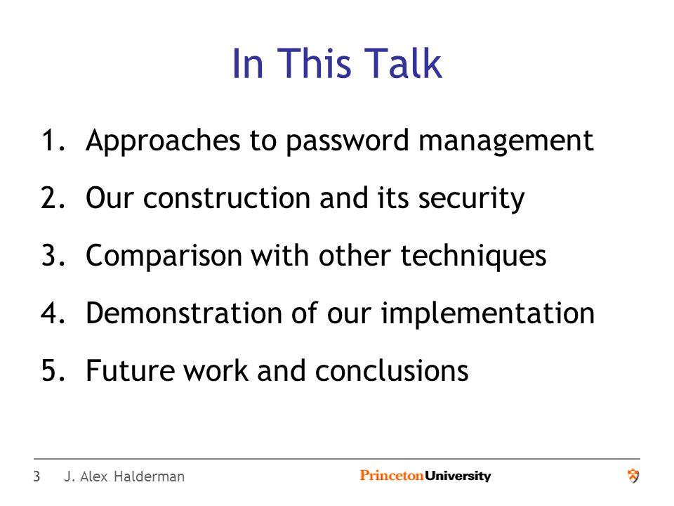 14 J. Alex Halderman Password Multiplier — Demo