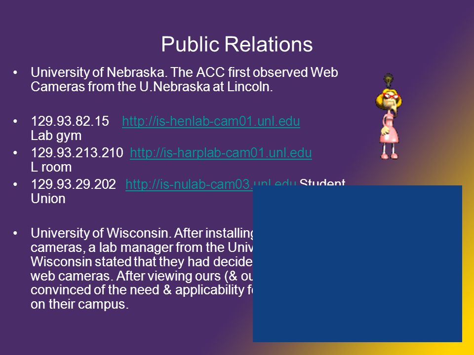 Public Relations University of Nebraska.