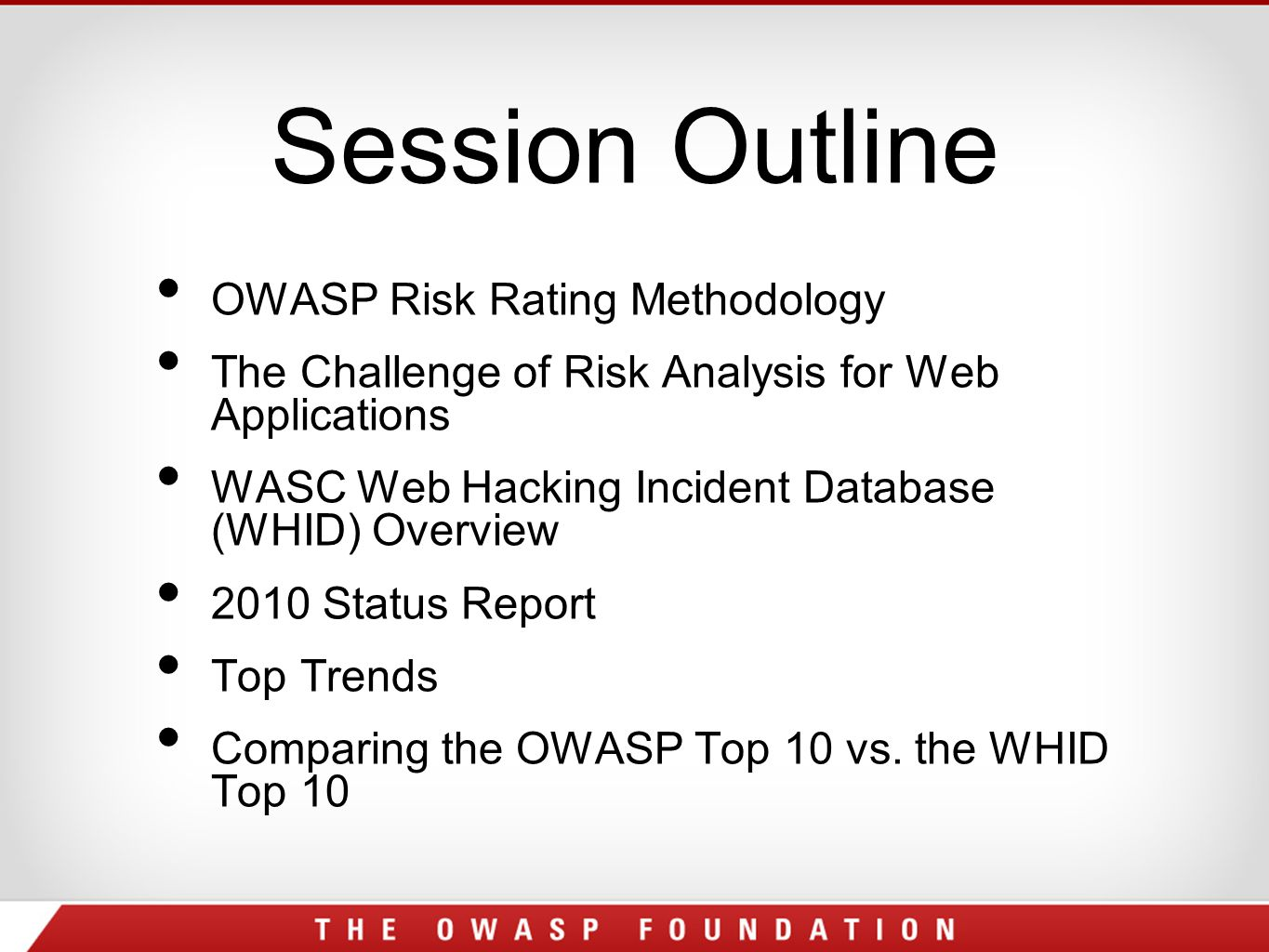 What are the Goals for Web Hacking?