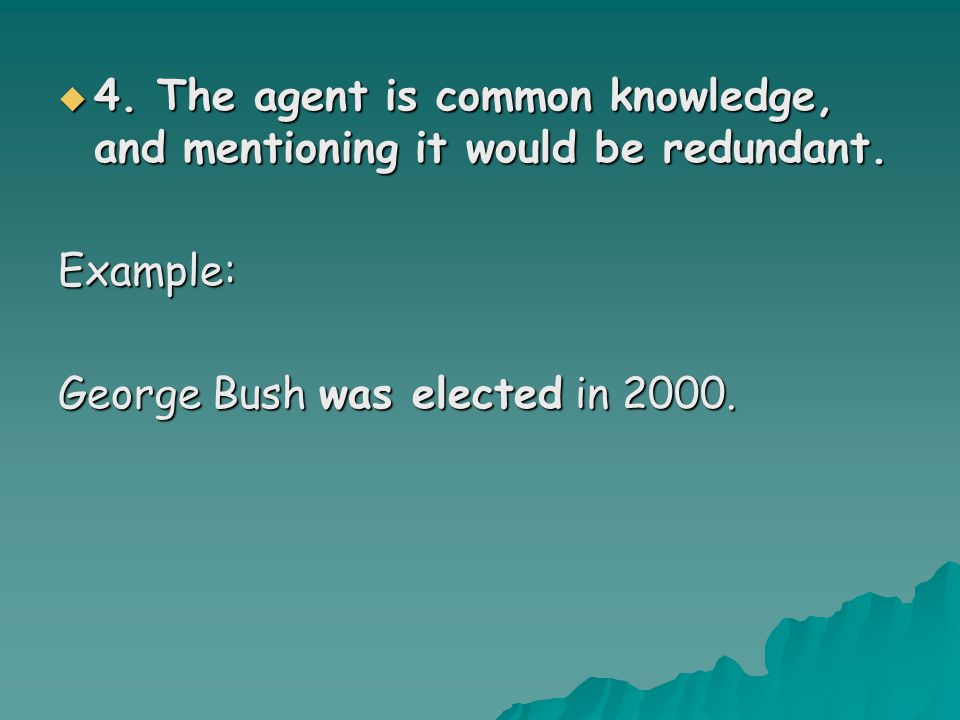 4444.The agent is common knowledge, and mentioning it would be redundant.