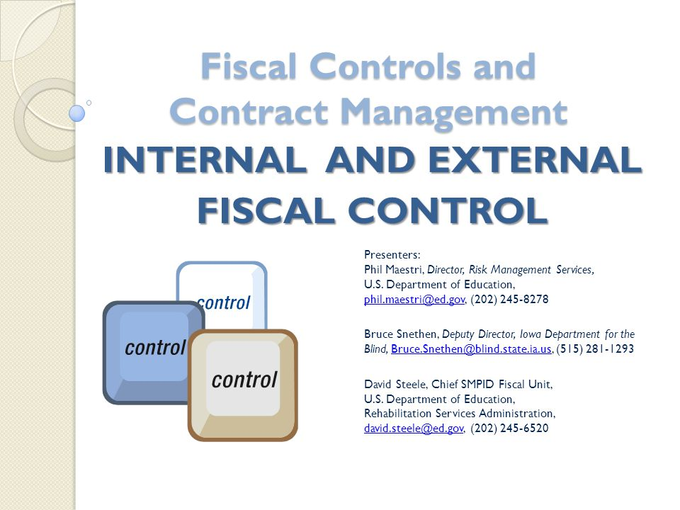 What is the definition of internal controls.