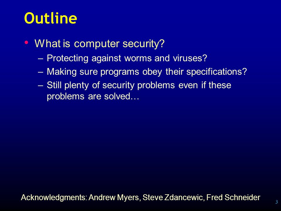 4 What is security.