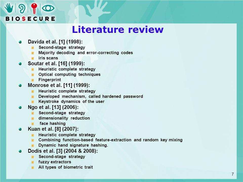 Literature review Davida et al.