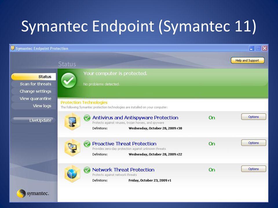 Symantec Endpoint (Symantec 11)