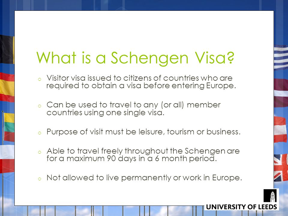 What is a Schengen Visa.