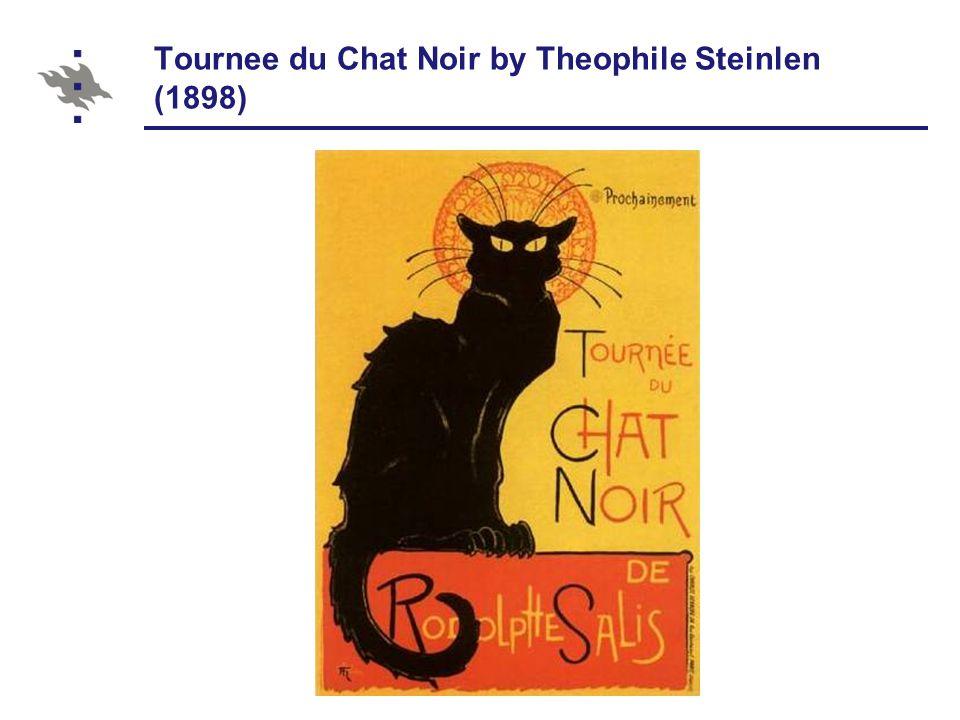 Tournee du Chat Noir by Theophile Steinlen (1898)