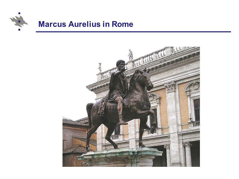 Marcus Aurelius in Rome