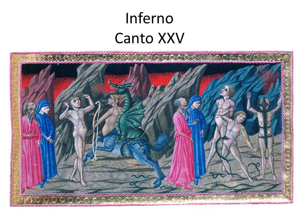 Inferno Canto XXV
