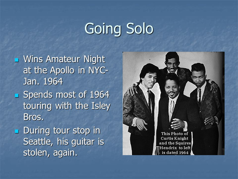 Going Solo Wins Amateur Night at the Apollo in NYC- Jan.