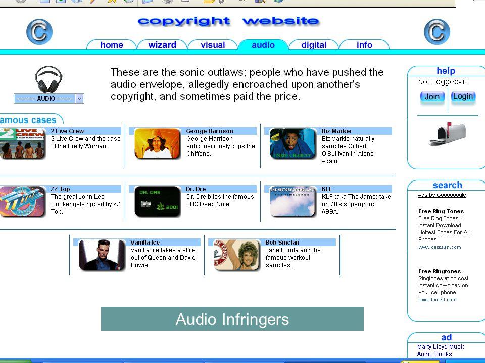 Audio Infringers