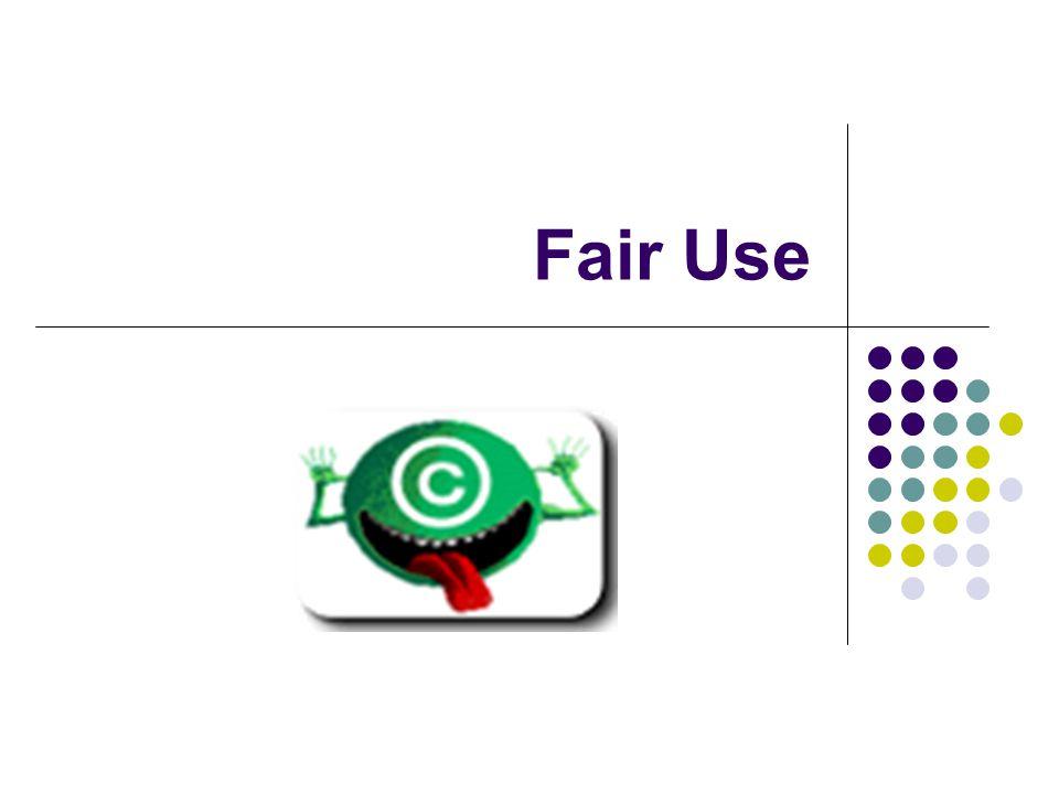 Fair Use