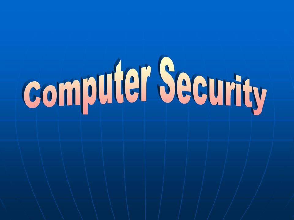Computer Viruses  Use the anti-virus program to check and remove viruses in your computer regularly.