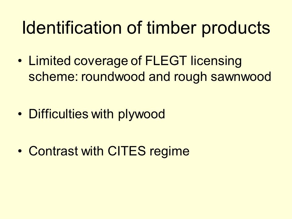Tracking Timber Movements Need for chain of custody or Excellent intelligence!
