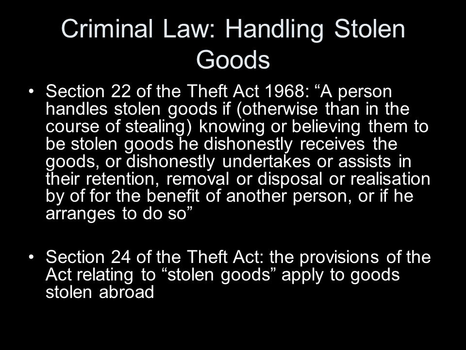 Goods Includes things severed from the land by stealing , section 34(2)(b) of the TA Section 4(2) TA: a person cannot steal things severed from land except when he is not in possession of the land and appropriates anything by severing it etc