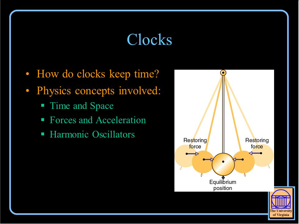 Clocks How do clocks keep time.