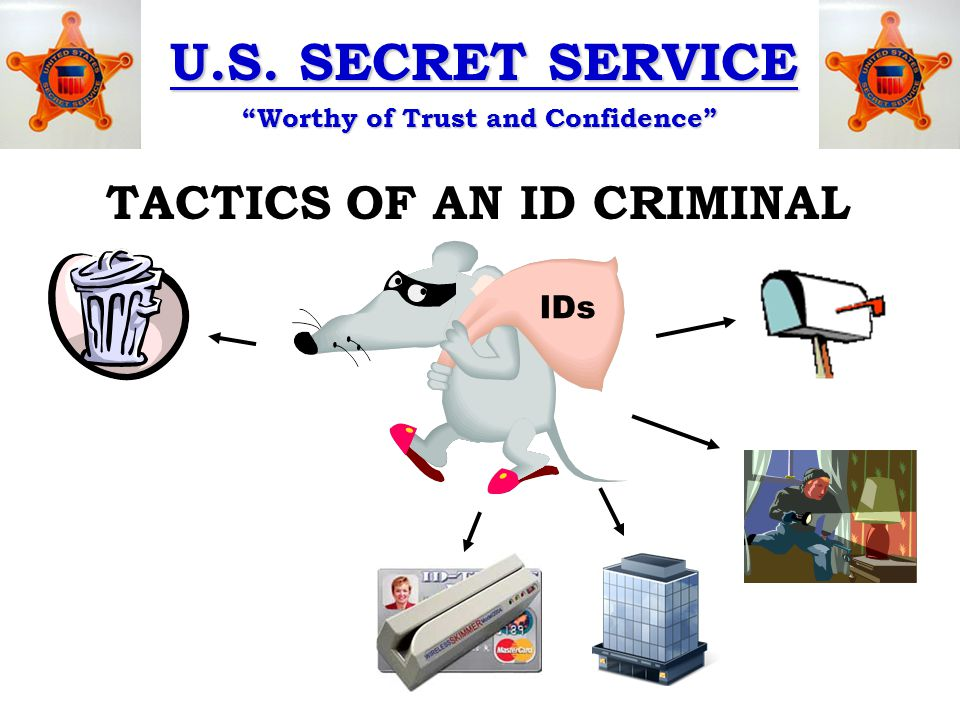 U.S. SECRET SERVICE Worthy of Trust and Confidence SKIMMERS