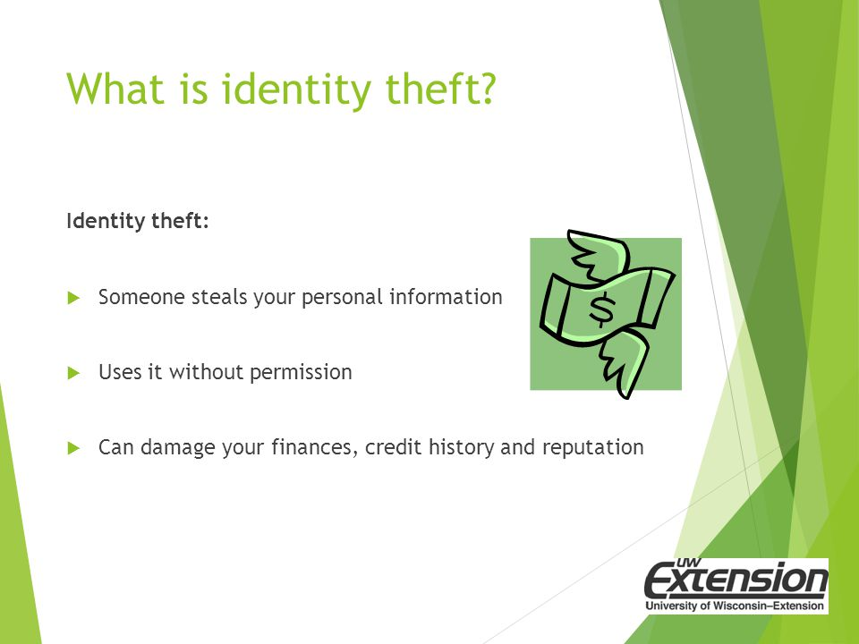 Reduce Your Risk Read your bank, credit and account statements, and Explanation of Medical benefits.