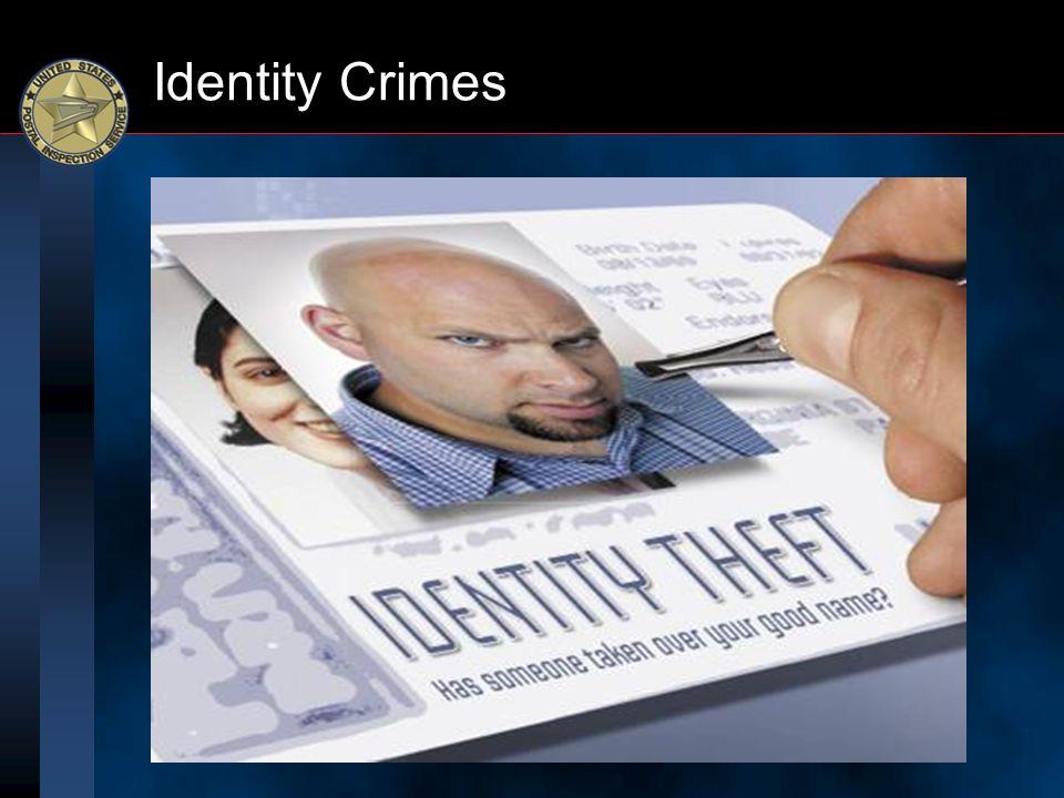 Identity Crimes