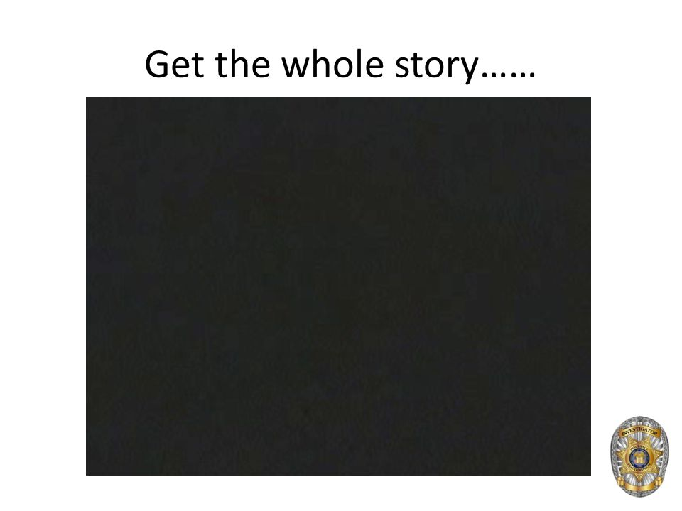 Get the whole story……